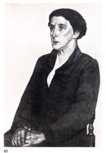 Image of Ekaterine Serebriakoff by Pavel Filonov