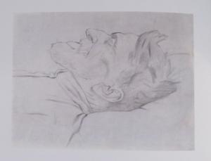 Image of Esper Serebriakoff drawn by Pavel Filonov.