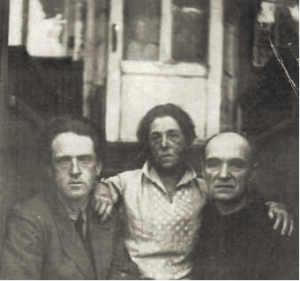 Image of Pytor Serebriakoff, Ekaterine Serebriakoff and Pavel Filonov